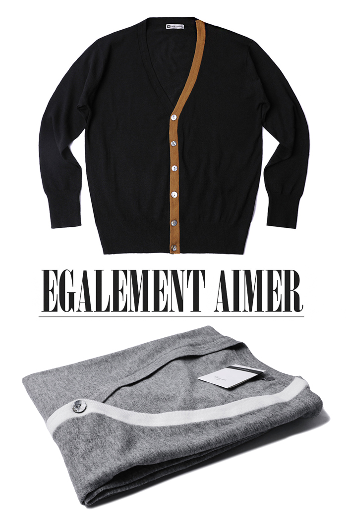 THE.M unbal line cardigan-2color수입한정모델!