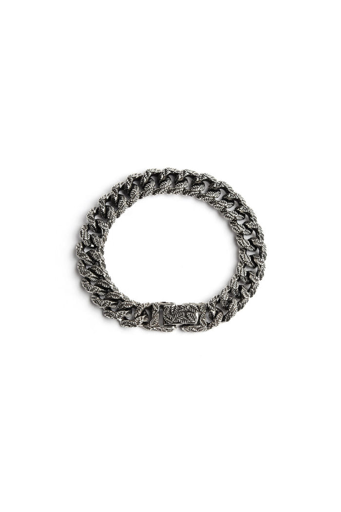 Leaf chain 11mm bracelet[premium-hand made]