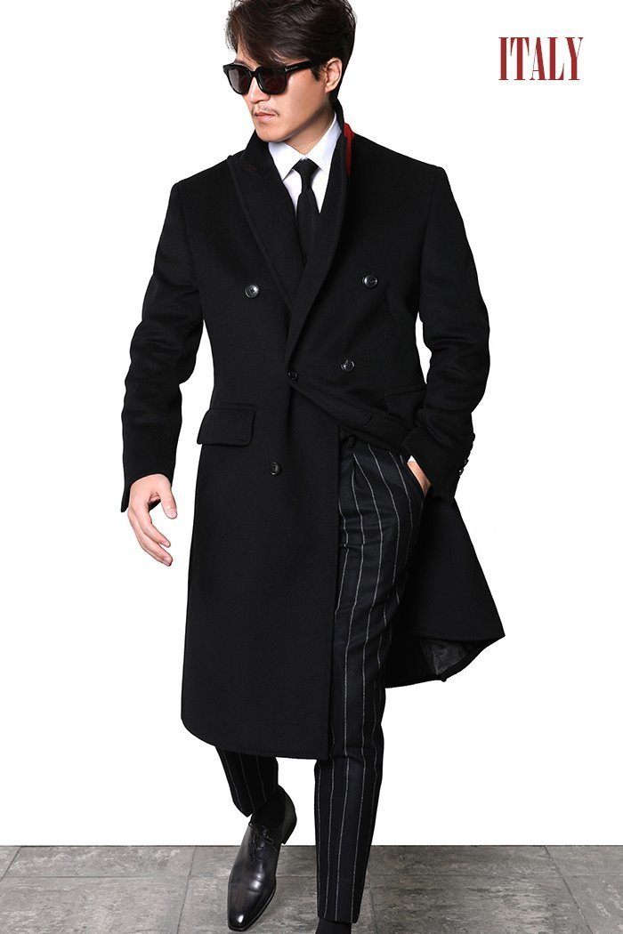 TAKE469 GENERA ITALY CASHMERE DOPPIO COAT-BLACKITALY SERIES-2/3이상 판매완료!