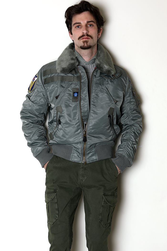 XTONZ XJ5 FLIGHT JACKET-SAGE