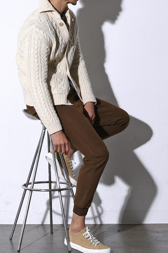 NOBLER CABLE KNIT CARDIGAN-3COLOR