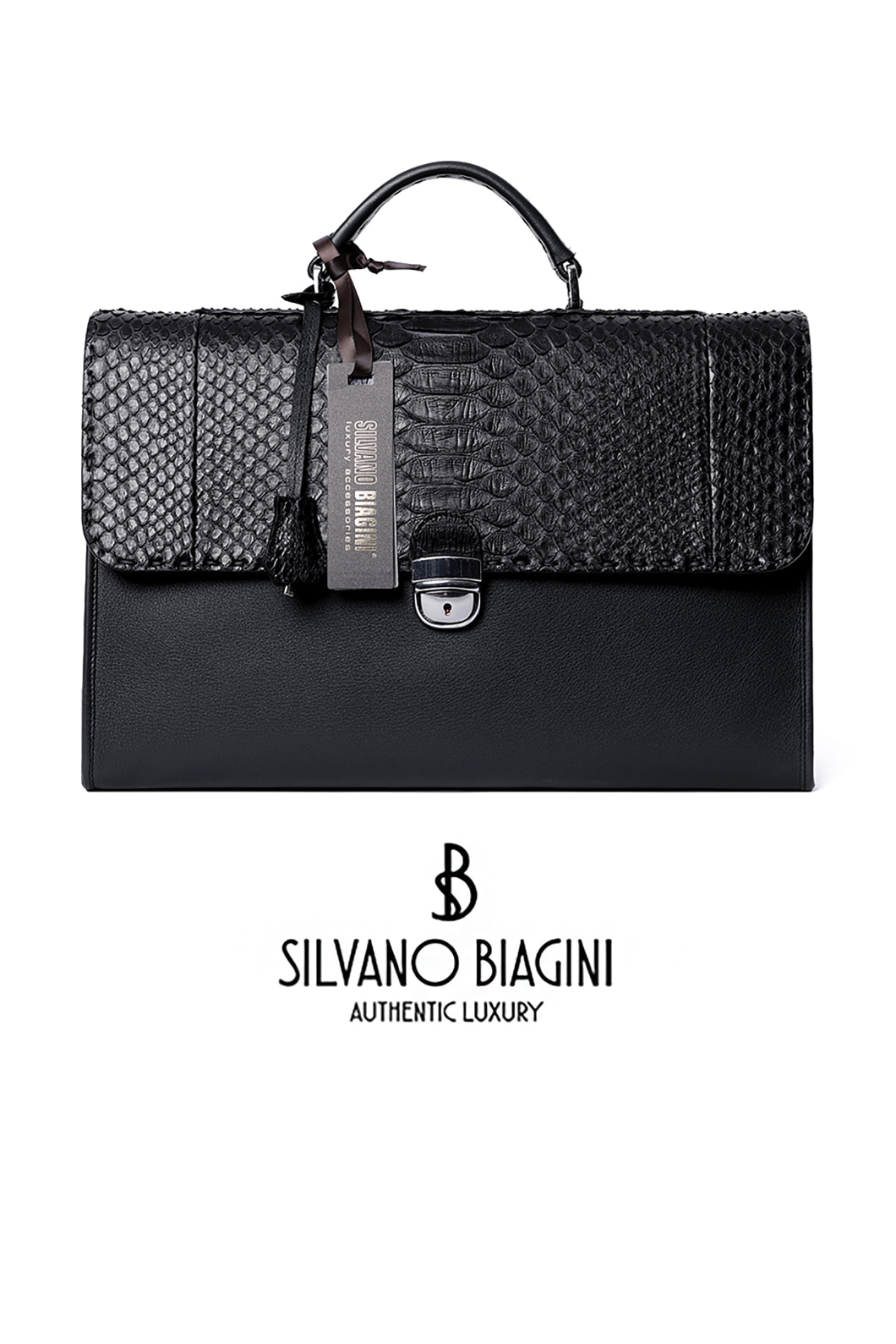 SILVANO BIAGINI PHAETHON BRIEF CASE-BLACK2020소량 재입고완료!