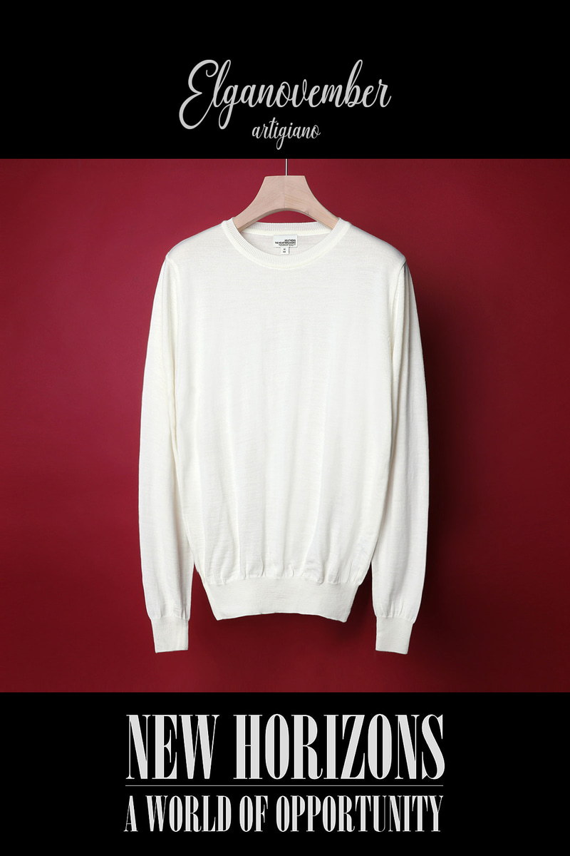BILLY BASIC ROUND KNIT-3COLOR