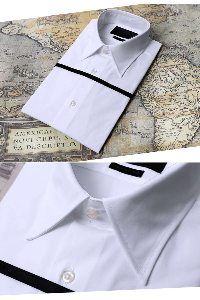 459 ITALIA Andreazza&Castelli Regular2 SHIRT-WHITE