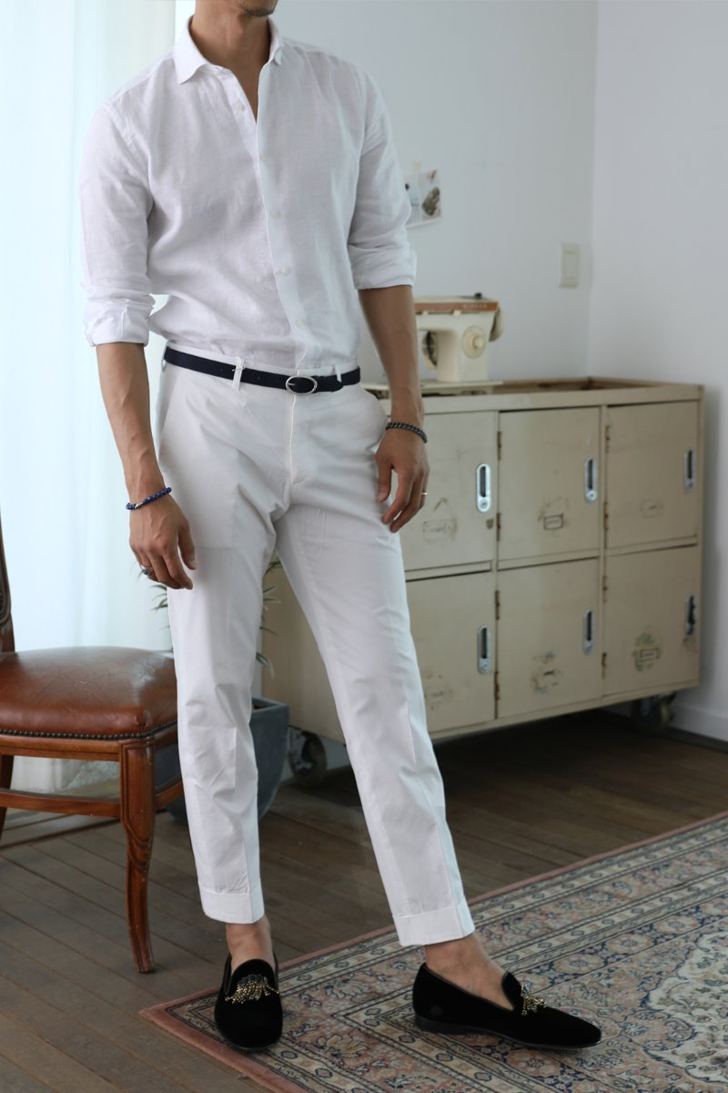 ANGELSON SLACKS PANTS-4COLOR