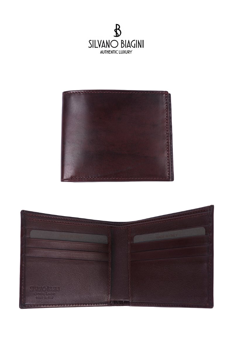 SILVANO BIAGINI HUNNAM WALLET-RED