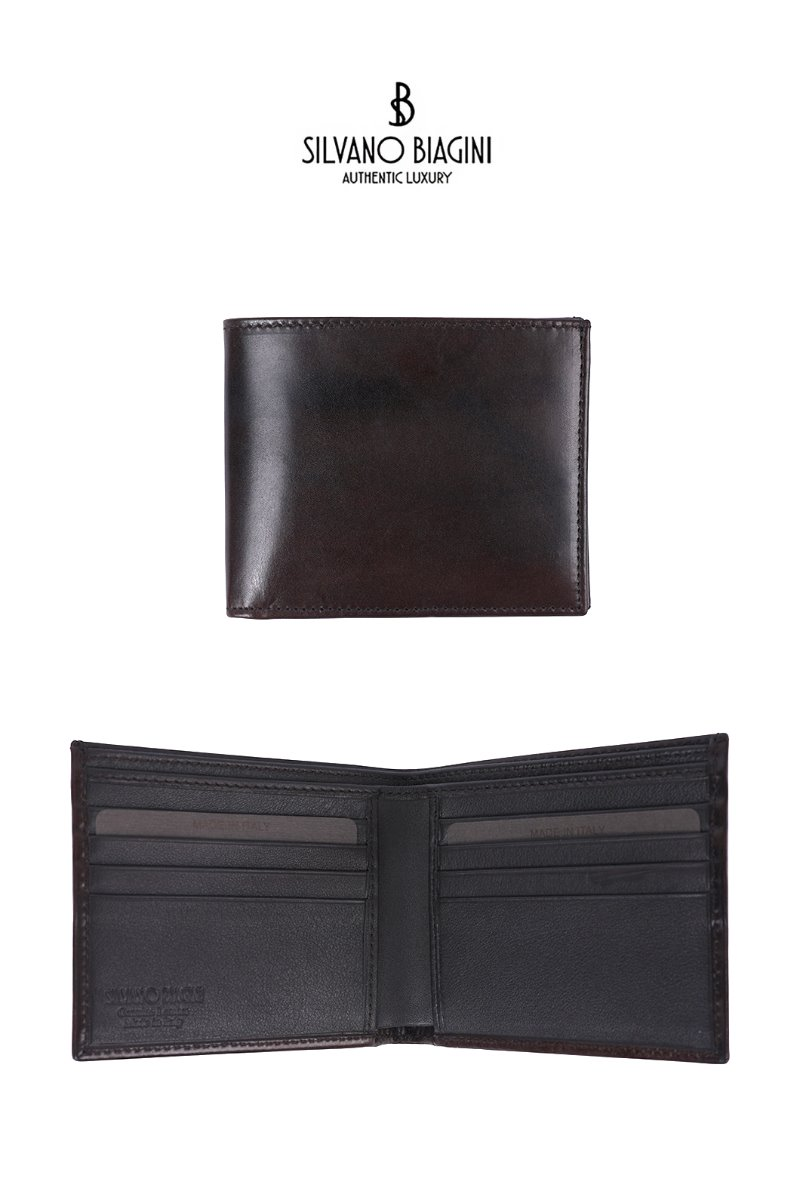 SILVANO BIAGINI HUNNAM WALLET-BROWN