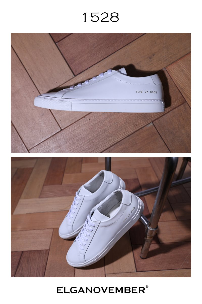 A-1 White Low Sneakers/White-Best Seller!!  41(260~265), 42(270~275) size 당일 발송!