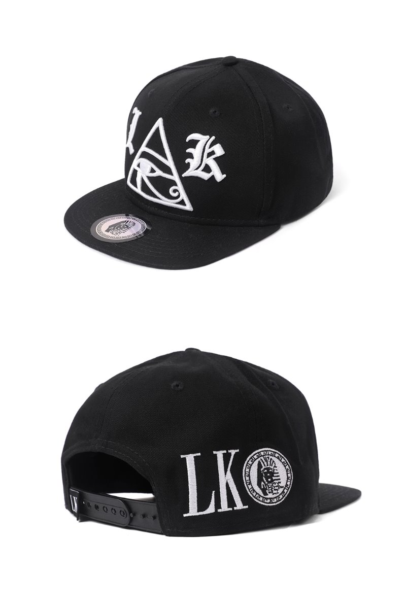 LAST-KINGS PYRAMID SNAPBACK-BLACK